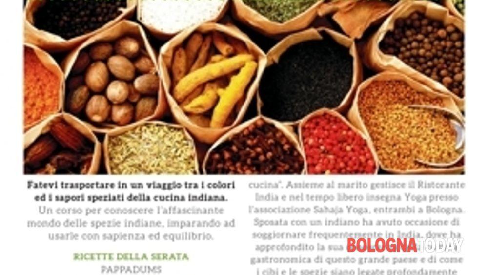 Corso di cucina indiana - Corso di cucina bologna ...