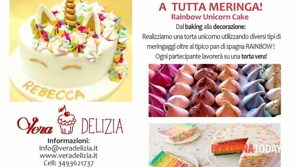 Corso di pasticceria gratuito: la rainbow cake!