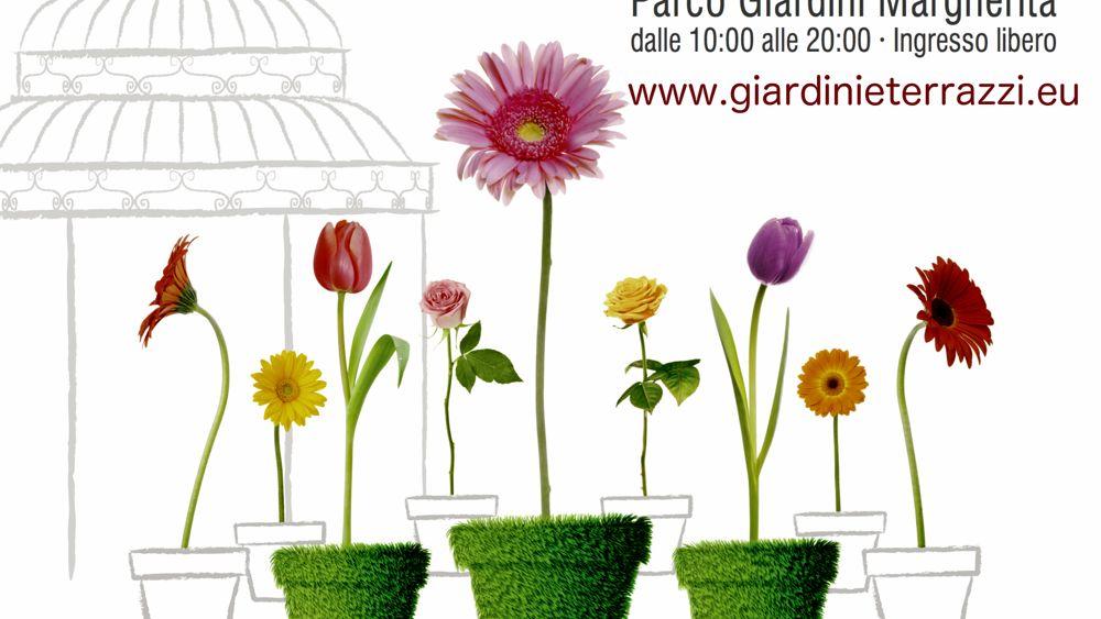"""giardini e terrazzi"""": 6-8 maggio 2016"""