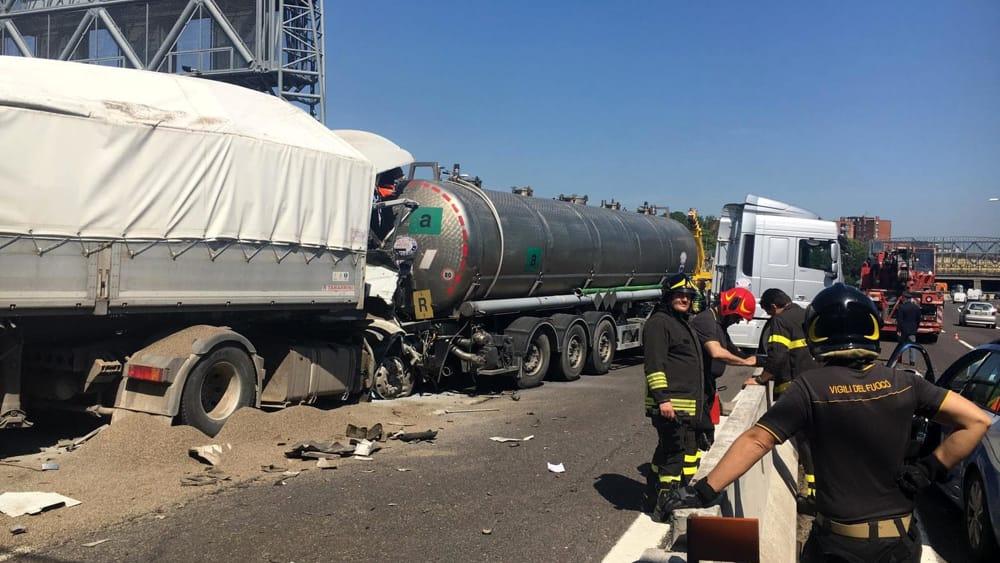 Incidente in A14: autostrada riaperta al traffico