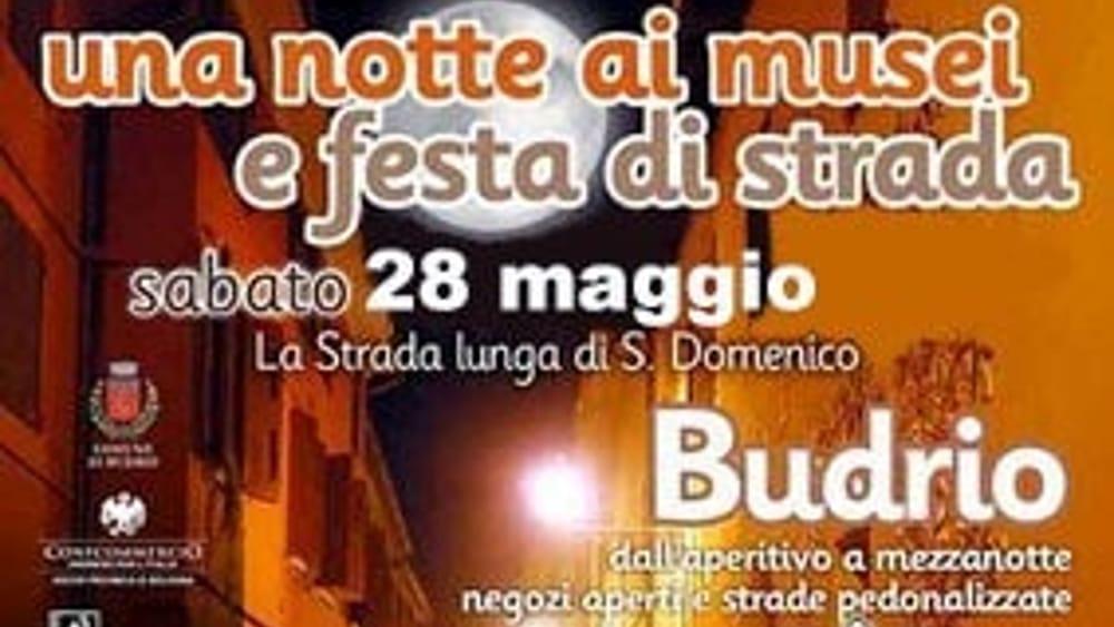 """La """"Notte dei Musei"""" a Budrio"""