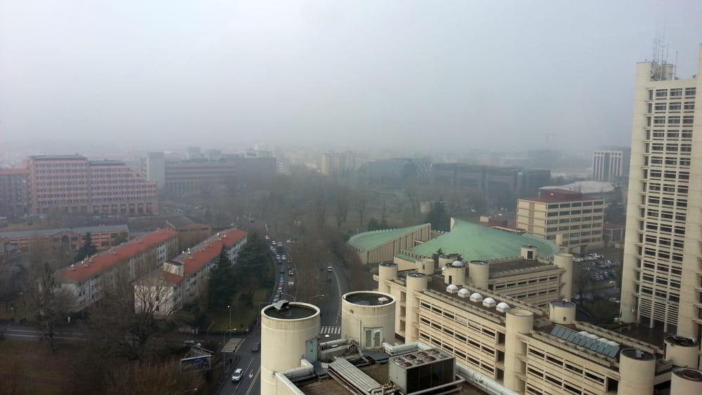 Blocco del traffico, oggi il controllo delle polveri nell'aria