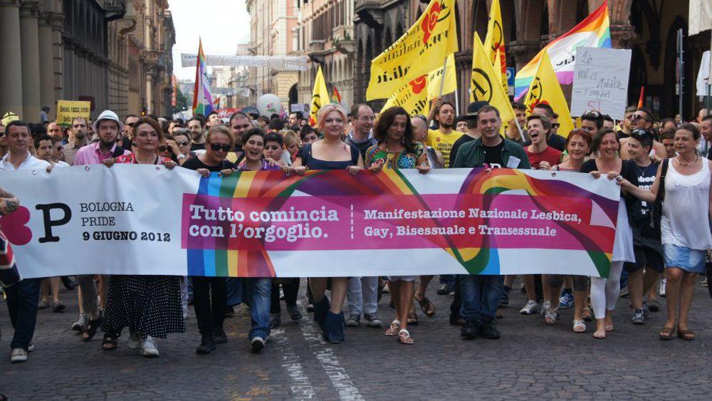 from Tony gay pride bologna