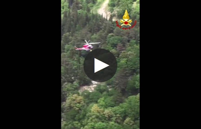 Intervento elicottero vigili fuoco-2